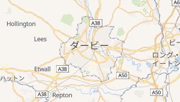 ダービー の地図