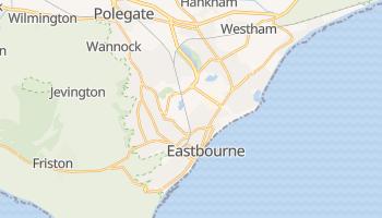 イーストボーン の地図