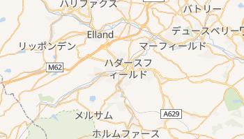 ハダースフィールド の地図