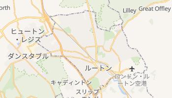 ルートン の地図