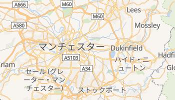 マンチェスター の地図