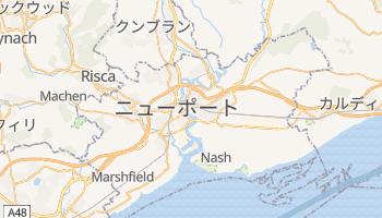 ニューポート の地図