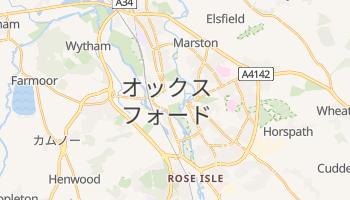 オックスフォード の地図
