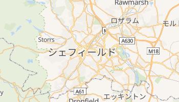 シェフィールド の地図