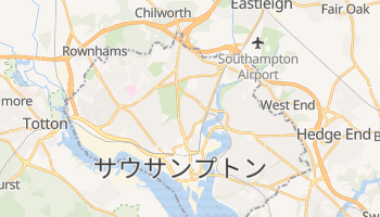 サウサンプトン の地図