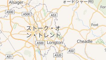 ストーク・オン・トレント の地図