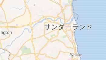 サンダーランド の地図