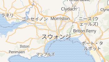 スウォンジ の地図