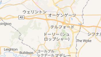 テルフォード の地図