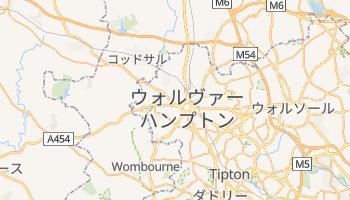 ウォルヴァーハンプトン の地図