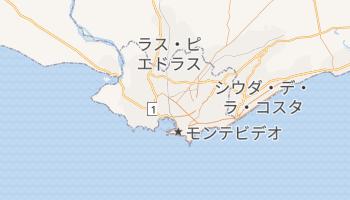 モンテビデオ の地図