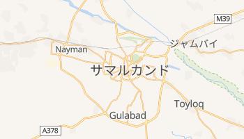 サマルカンド の地図