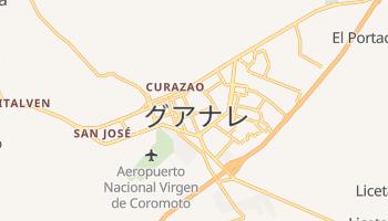 グアナレ の地図