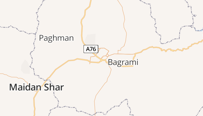 Kabul online kaart