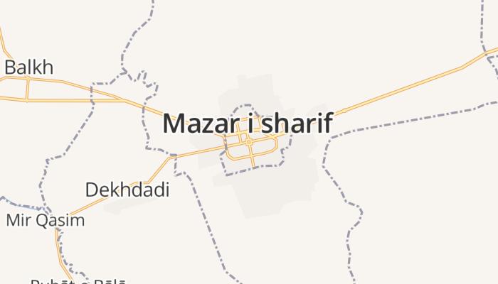 Mazar-e Sharif online kaart