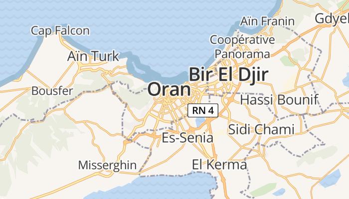 Oran online kaart