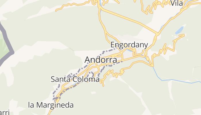 Andorra la Vella online kaart