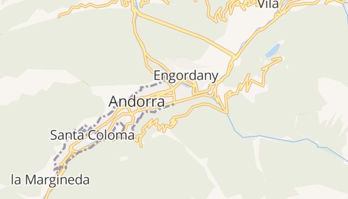 Escaldes-Engordany online kaart