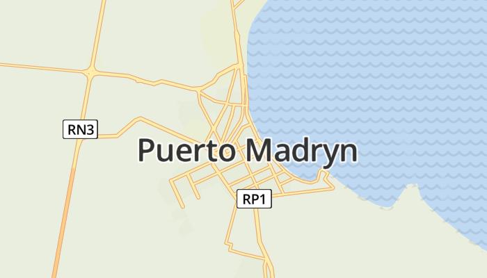 Puerto Madryn online kaart