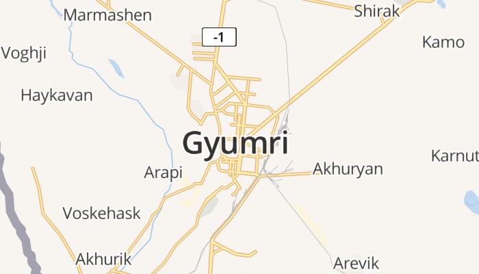 Gjoemri online kaart