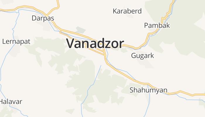 Vanadzor online kaart