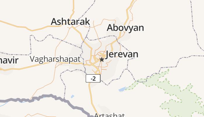 Jerevan online kaart