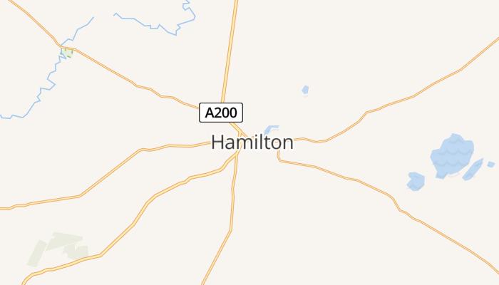 Hamilton online kaart