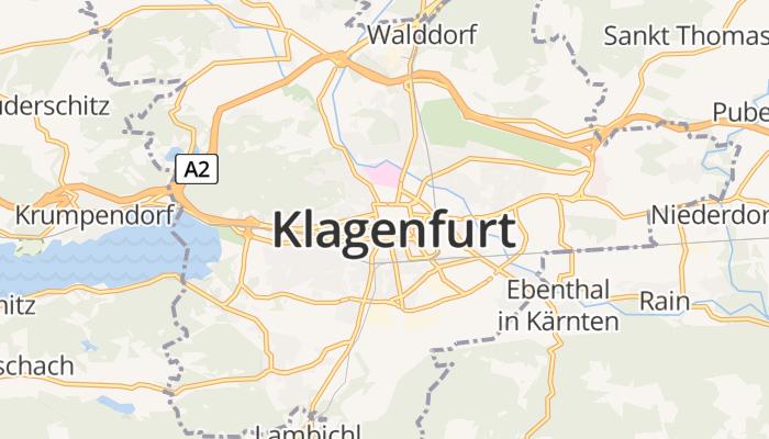 Klagenfurt online kaart