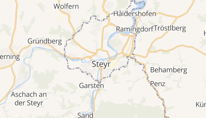 Steyr online kaart