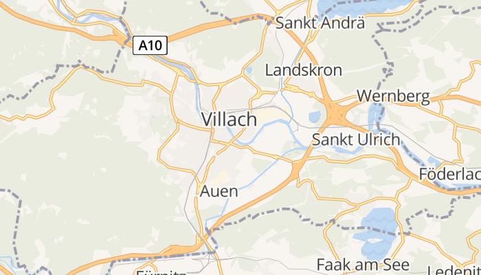 Villach online kaart