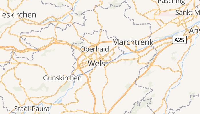 Wels online kaart