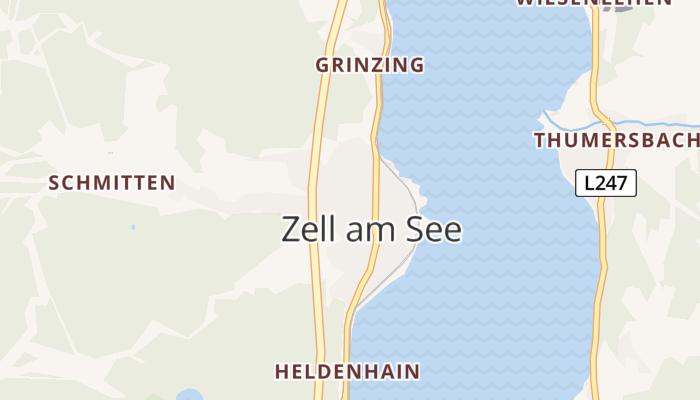 Zell am See online kaart