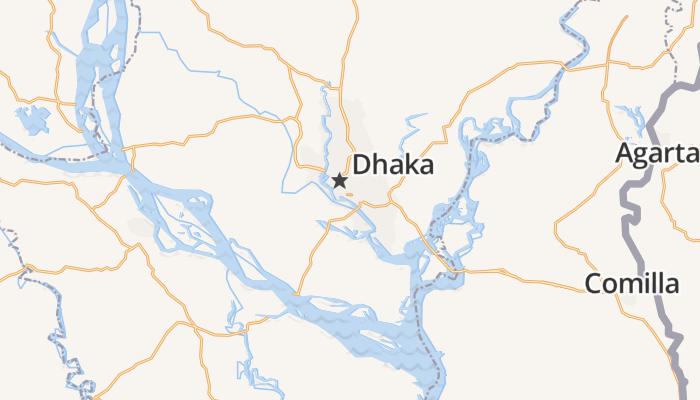 Dhaka online kaart
