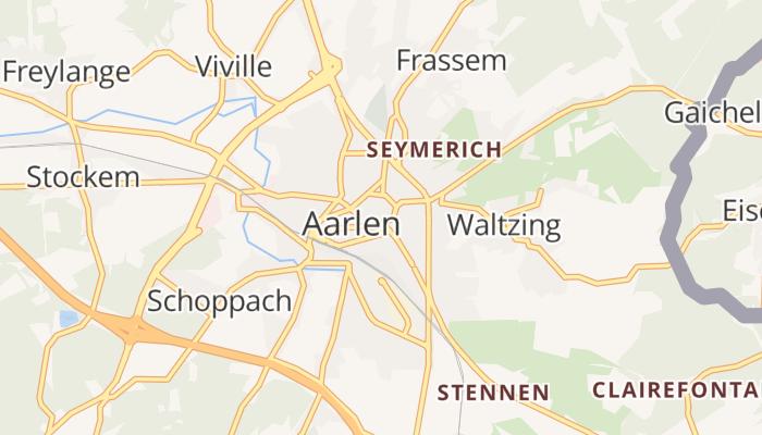 Aarlen online kaart