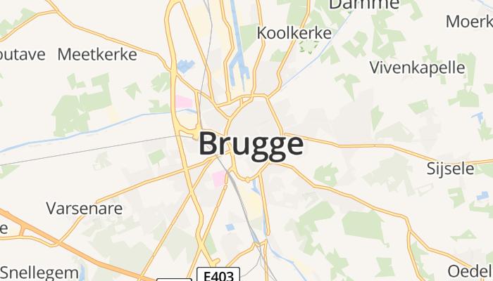 Brugge online kaart