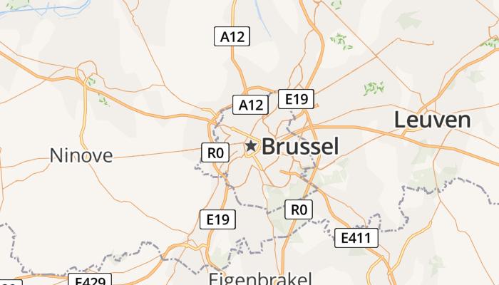 Brussel online kaart