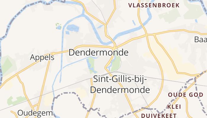 Dendermonde online kaart
