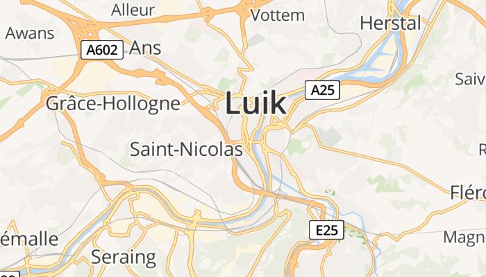 Luik online kaart