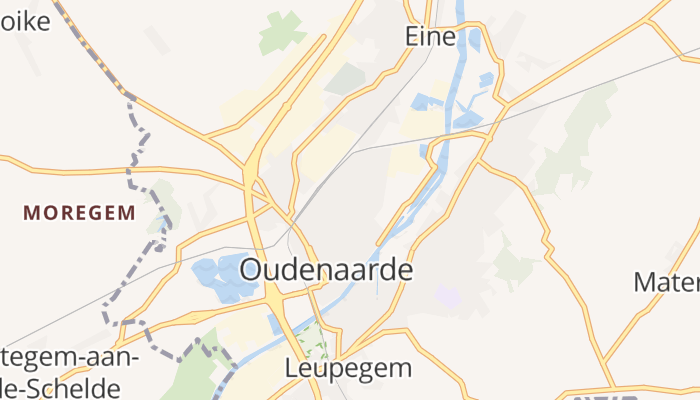 Oudenaarde online kaart