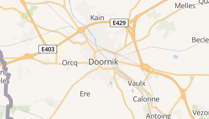 Doornik online kaart
