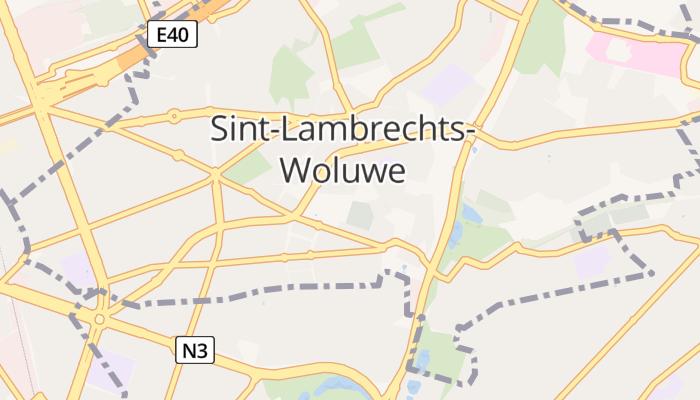 Brussel (Sint-Lambrechts-Woluwe) online kaart