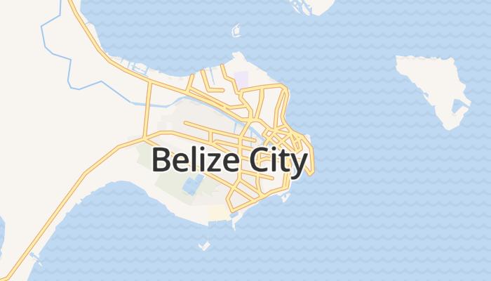 Belize-stad online kaart
