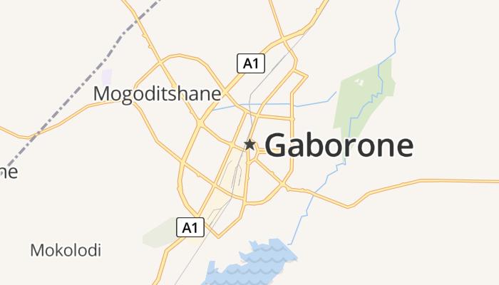 Gaborone online kaart