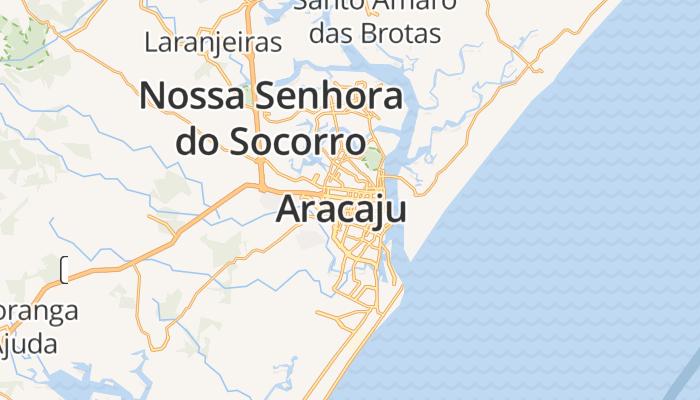 Aracaju online kaart