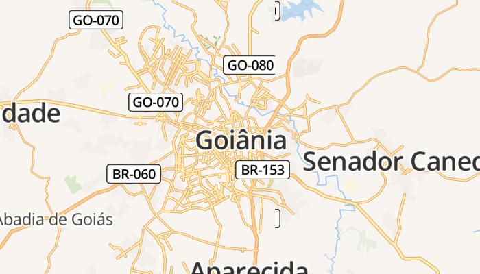 Goiânia online kaart