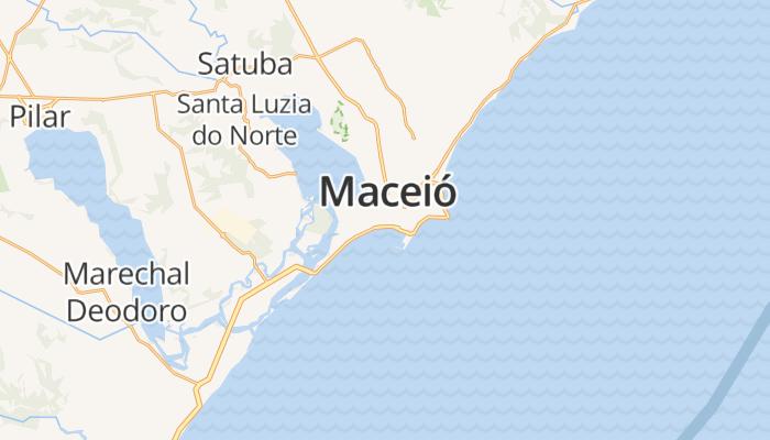 Maceió online kaart