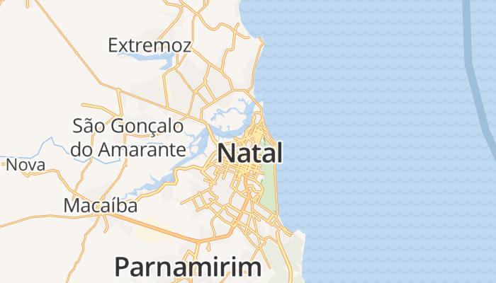 Natal online kaart