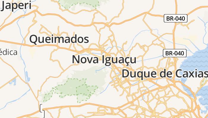 Nova Iguaçu online kaart