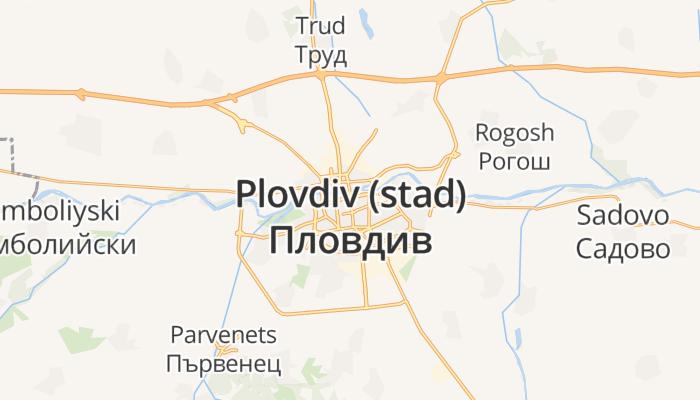 Plovdiv online kaart