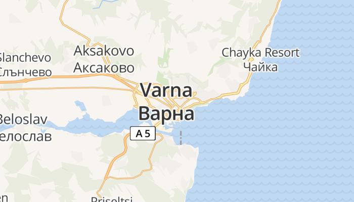 Varna online kaart